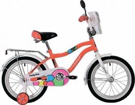 Велосипед Novatrack Candy 16 (на рост 110)