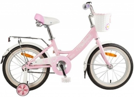 Велосипед Novatrack Girlish Line 16 (на рост 110)