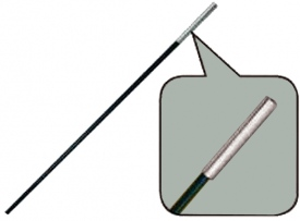 Сегменты дуги BTrace Фибергласс D11 мм, длина 1х55 см