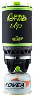 Газовая горелка Kovea Alpine Pot Wide Up 1.5л