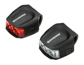 Комплект фонарей  Schwinn Quick Wrap Light Set 26 lumens