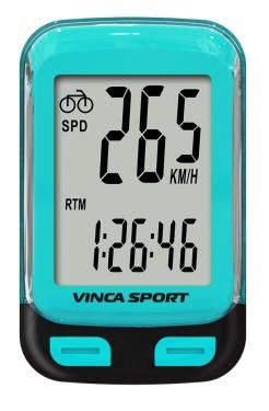 Велокомпьютер Vinca Sport беспроводной с подсветкой экрана