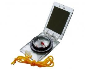 Компас складной с зеркалом AceCamp Foldable Map Compass w/mirror 3114