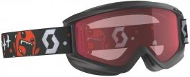 Детская маска Scott Agent Jr Black Red / Enhancer