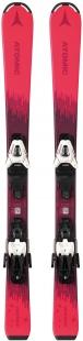 Горные лыжи Atomic Vantage X Girl 100-120 + крепления С 5 GW