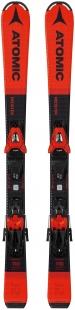 Горные лыжи Atomic Redster J2 100-120 + крепления С 5 GW