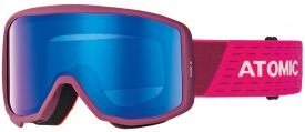 Детская маска Atomic Count JR Cylindrical Berry Pink / Blue