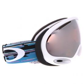 Маска Oakley A-Frame 2.0 Ripped N Torn Black Purple / Violet Iridium