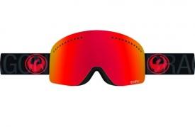 Маска Dragon NFX Covert / Red Ionized + Amber