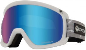 Маска Dragon D3 OTG Sharky / Lumalens® Blue Ionized + Lumalens® Amber