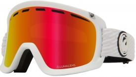 Маска Dragon D1 OTG Pk White / Lumalens® Red Ionized + Lumalens® Pink Ionized