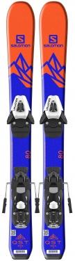 Горные лыжи Salomon QST Max JR XS + крепления C5 SR