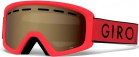 Детская маска Giro Rev Red Black Zoom / Amber Rose 40