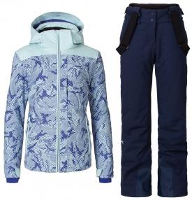 Горнолыжный костюм Kjus Surface Jacket + Silica Pants Girls