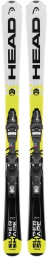 Горные лыжи Head Supershape Team + SX 4.5 AC