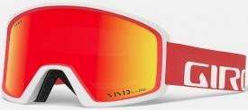Маска Giro Blok Apex Red/White + Vivid Ember 35 Adult
