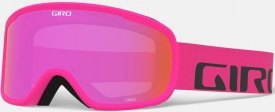 Маска Giro Cruz Bright Pink Wordmark / Amber Pink 37