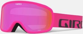 Маска Giro Cruz Bright Pink Wordmark / Amber Pink 37