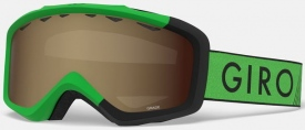 Детская маска Giro Grade Bright Green / Black Zoom / Amber Rose 40