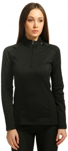 Термобелье Salomon кофта HV WT Long Sleeve Zip Neck W