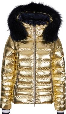 Куртка с мехом Sportalm Kyla Metallic m K+P