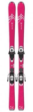 Горные лыжи Salomon QST Lux Jr M + крепления L6 GW