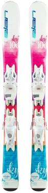 Горные лыжи Elan Sky QS 130-150 + крепления EL 7.5 Shift
