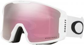 Маска Oakley Line Miner XL Matte White / Prizm Hi Pink Iridium