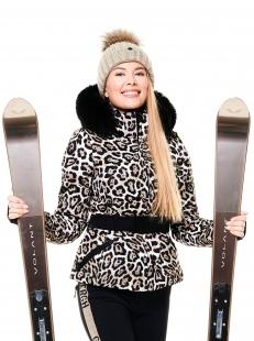 Куртка с мехом Goldbergh Wild Real Fox Fur