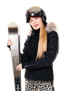 Куртка Goldbergh Stylish Real Arctic Raccoon Fur