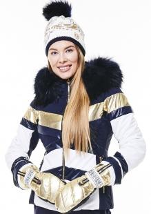 Куртка с мехом Sportalm Queen BU m K+P