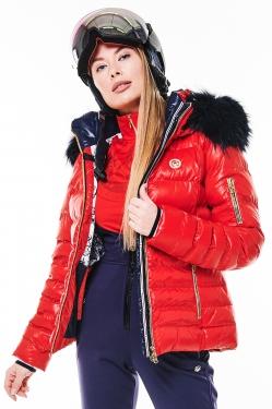 Куртка с мехом Sportalm Kyla BU m K+P