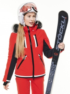 Куртка с мехом Toni Sailer Henni Fur