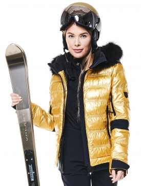 Куртка с мехом Toni Sailer Tami Metallic Fur