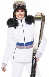 Куртка с мехом Poivre Blanc W20-0800-WO/B