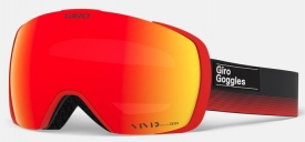 Маска Giro Contact Black Red Label / Vivid Ember 27 + Vivid Infrared 50