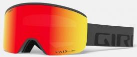 Маска Giro Axis Grey Wordmark / Vivid Ember 37 + Vivid Infrared 62