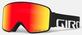 Маска Giro Method Black Wordmark / Vivid Ember 35 + Vivid Infrared 58