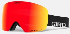 Маска Giro Contour Black Wordmark / Vivid Ember 27 + Vivid Infrared 50