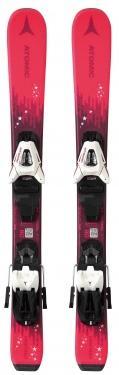 Горные лыжи Atomic Vantage Girl X 70-90 + крепления С5 GW