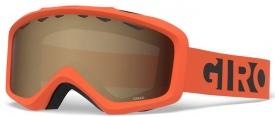 Детская маска Giro Grade Orange Black Blocks / Amber Rose 40