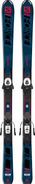 Горные лыжи Salomon S/Force Jr M + крепления L6 GW