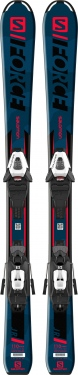 Горные лыжи Salomon S/Force Jr S + крепления C5 GW