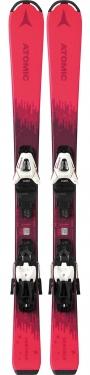 Горные лыжи Atomic Vantage Girl X 100-120 + крепления С5 GW