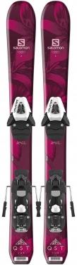 Горные лыжи Salomon QST Lux JR XS + крепления C5 SR