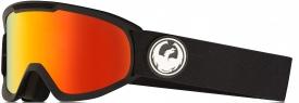 Маска Dragon DX2 Black / Lumalens® Red Ionized + Lumalens® Rose
