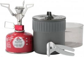 Горелка + набор посуды MSR PocketRocket 2 Mini Stove Kit